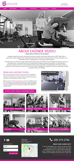 Eastside Studio Boutique Gym in Parnell, Auckland